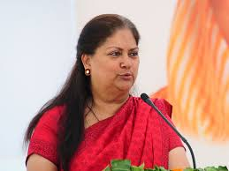 Seeking In Jaipur Alwar Bypoll Rajasthan Bypolls Cm Raje Holds Roadshow In Alwar