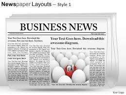 newspaper theme for ppt paper powerpoint templates slides and graphics