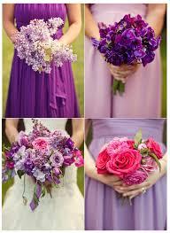Bridesmaid Bouquets Mismatched Bridesmaid Bouquets
