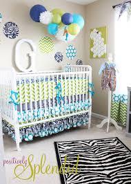 Baby Boy Nursery Tour Positively Splendid Crafts Sewing