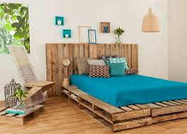 Bed Frame Made From Pallets Top 62 Recycled Pallet Bed Frames Diy Pallet Collection