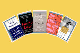 Top 10 Non Fiction Books 2017 What Happened Blind Spot Time
