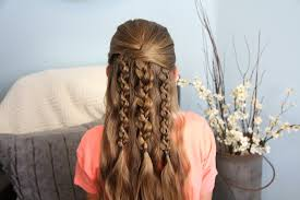 cute girl hairstyles how to french braid textured braids cute hairstyle accents cute girls hairstyles