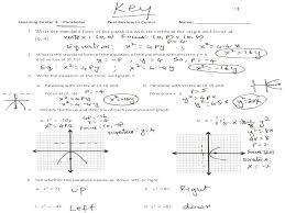 graphing parabolas equations worksheet answers u2013 jennarocca