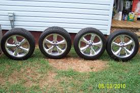 used ford mustang wheels 05 09 gt premium polished 18 bullitt wheels tires for sale