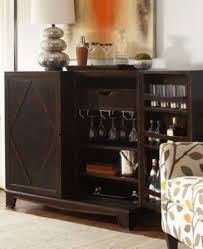 Home Bar Cabinet by Dining Room Bar Furniture Voltaire Traditional Style Curio Corner