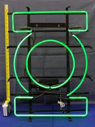 green lantern neon light dc brings back the green lantern neon sign for comic book stores