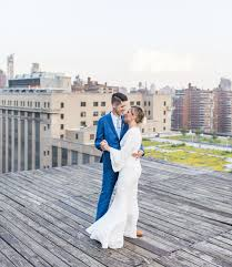 wedding shoes nyc colorful modern nyc rooftop wedding green wedding shoes