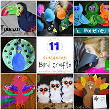 silly paper plate bird hats your kids will love i heart crafty
