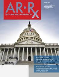 Locator Cpesn Usa Arrx The Arkansas Pharmacist Winter 2017 By Scott Pace Issuu