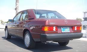 23 973 miles 1986 mercedes 190e