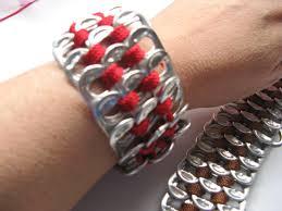 bracelet youtube images How to crochet a soda tab bracelet jpg