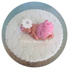 pink and gray baby shower baby shower cake topper fondant edible pink and grey baby shower