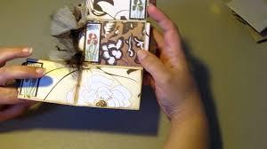 Small Scrapbook Album Toilet Paper Roll Mini Scrapbook Album My Very First Youtube