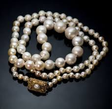 necklace clasps vintage images Vintage 1920s pearl necklace with gold clasp antique jewelry jpg