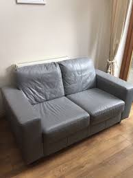Grey Laminate Flooring Ikea Ikea Skogaby 2 Seater Leather Sofa Grey In Street Somerset