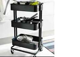 ikea raskog trolley ikea raskog kitchen trolley black kitchen island storage bathroom