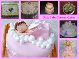 girls baby shower cakes http www cake decorating corner com
