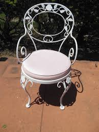 Wrought Iron Patio Dining Set - patio dining set woodard wrought iron chantilly rose pattern at