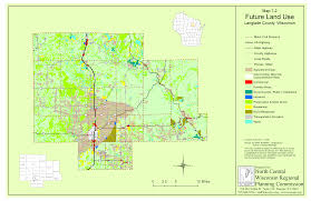 Wisconsin City Map by Langlade County Comprehensive Planning