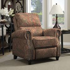 Recliner Massage Chairs Leather Furniture Wall Hugger Recliners Leather Reclining Chair