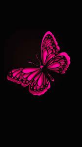 iphone wallpaper hd pink butterfly 2018 screensavers