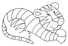 coloring pages of tigers tigers coloring pages