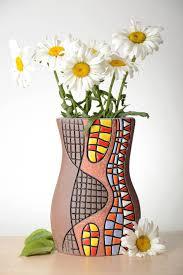 madeheart u003e stylish handmade ceramic vase flower vase design clay