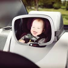 baby car mirror with light easy view plus baby mirror travel accessory diono uk