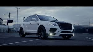 bentley bentayga silver mansory bentley bentayga youtube