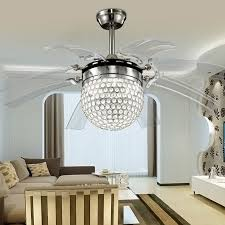 Ceiling Fan Crystal by Dining Room Ceiling Fans With Lights Aliexpresscom Buy 42inch