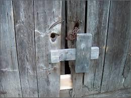 barn door look barn door lock ideas u2014 john robinson house decor barn door lock