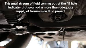 audi a4 transmission fluid change youtube