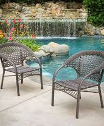 Grey Wicker Patio Furniture by Outdoor Wicker Patio Furniture Beachfront Decor