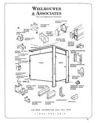 Restroom Partition Toilet Partitions Parts Identification Diagram Wielhouwer