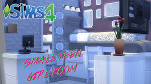 the sims 4 compact home decor teen bedroom youtube