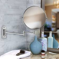 bathroom cabinets double sided chrome bathroom swivel bathroom