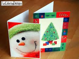 handmade christmas cards designs for kids ne wall