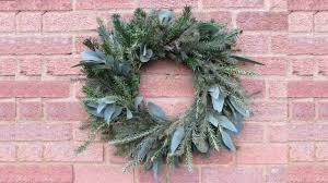 making a christmas wreath youtube
