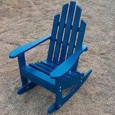 Rocking Chair Tab Junior Adirondack Rocking Chair Dfohome