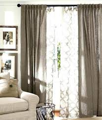 Curtains To Cover Sliding Glass Door Curtain Ideas For Large Sliding Glass Doors Impressive Dual Rod