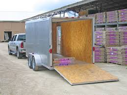 Trailer Garage by Enclosed Cargo Trailer Norco Trailers