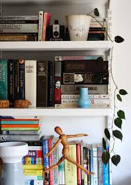 how real people do bookshelf styling jest cafe