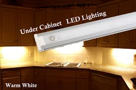 kitchen cabinet led lighting 24 inches warm white cabinet led light with ul power supply walmart