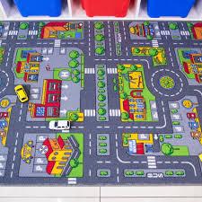 colourful fun roads children u0027s rug kukoon