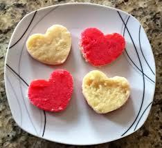heart shaped crackers milk burfi heart shaped teaspoon of turmaric