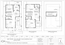 30x50 House Design by Floor Plan Concorde Group Concorde Napa Valley At Kanakapura