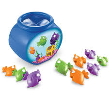 amazon com learning resources hide n go fish 10 pieces toys u0026 games