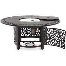 Propane Tank Fire Pit 52 Inch Propane Fire Pit Chat Table By Lakeview Outdoor Designs