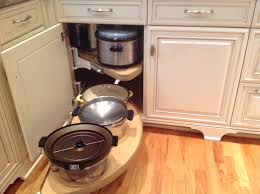 pull out shelf for corner cabinets is perfect for heavy items like
